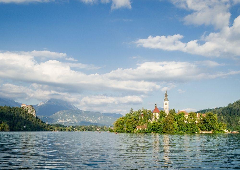 Romantická dovolená u jezera Bled